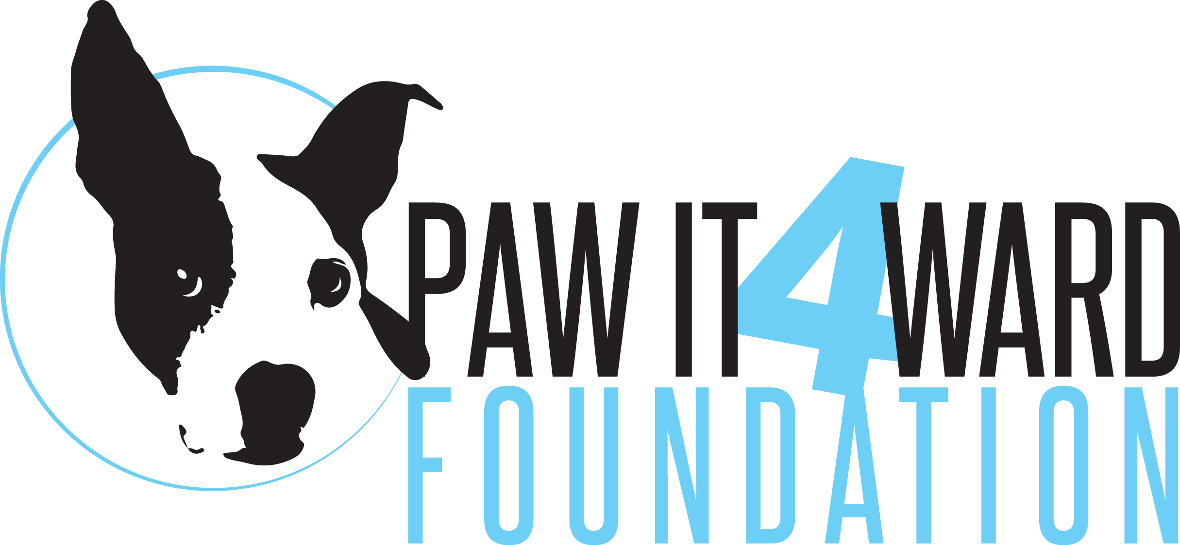 Paw It 4ward Foundation logo