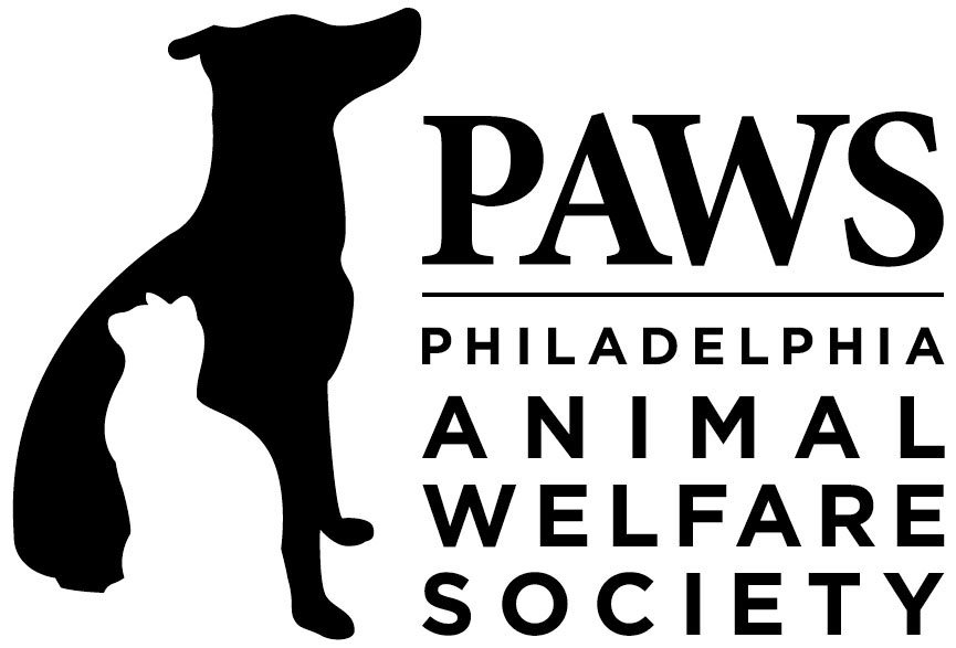 PAWS (Philadelphia Animal Welfare Society) logo