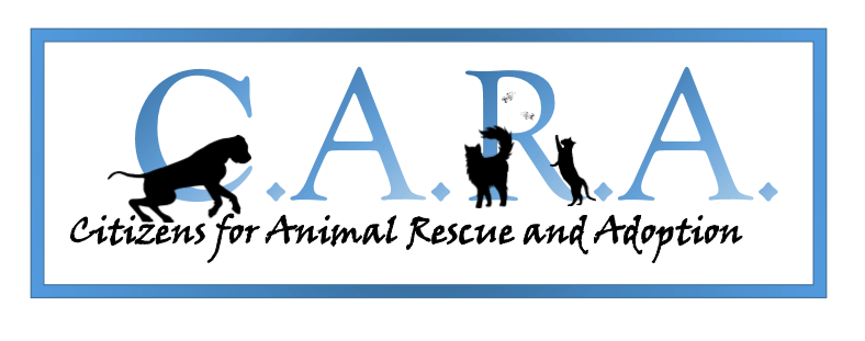 Citizens for Animal Rescue and Adoption (CARA) logo